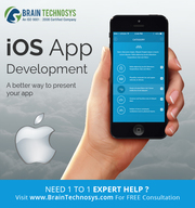 Hire iphone App Developers From Brain Technosys